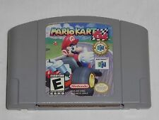Mario Kart 64 Nintendo 64 Game N64 - AUTHENTIC car cart race racing WORKS GREAT