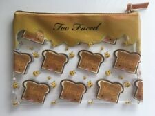 Too Faced Peanut Butter And Honey Eye Shadow Makeup Bag Limited Edition