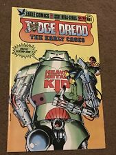 Judge Dredd Early Cases 1-6 Eagle 1986 Complete Set Run Lot 2 3 4 5 Very Nice