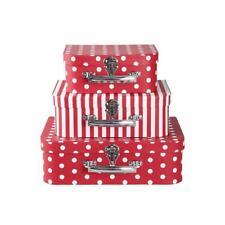 Clayre & Eef Schachteln Koffer Geschenkbox (3er-set) 64044 Shabby