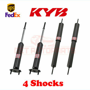 KYB Kit 4 Shocks Front Rear for AMC AMX 1978-80 GR-2/EXCEL-G Gas Charged