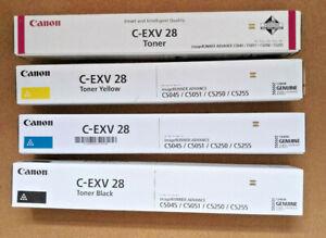 Canon C-EXV 28 complete set of toners