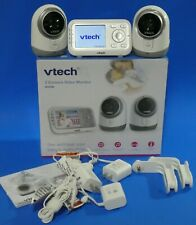 Vtech Vm3251-2 Video Baby Monitor Temperature Sensor 1,000 ft of Range w Two Cam
