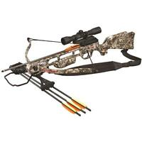 SA Sports Fever Recurve Crossbow Package w/4x32 Scope 175# Camo