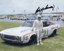 CALE YARBOROUGH HAND SIGNED 8x10 COLOR PHOTO+COA          NASCAR LEGEND