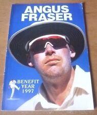 Angus Fraser's Benefit Brochure, 1997.