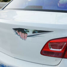Car Accessories 3D Car Sticker Girl Eyes Decorate Stickers Decoration