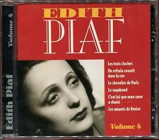 EDITH PIAF - VOLUME 4 - BEST OF CD ALBUM NEUF ET SOUS CELLO
