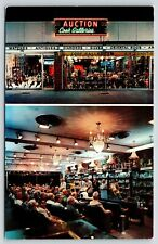 Daytona Beach FL~Cook Galleries Auction House~Neon Night Lights~Inside Out~1960s