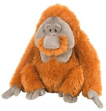 BNWT - WILD REPUBLIC MALE ORANGUTAN MONKEY APE FAMILY SOFT PLUSH TOY 30cm/12inch