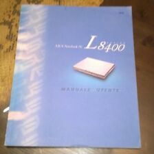 """Libri/Riviste/Giornali""""ASUS NOTEBOOK PC L 8400 MANUALE UTENTE""""Maggio 2000"""