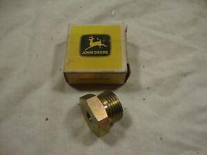 NOS John Deere R56993 Adapter Fitting plug rockshaft lift 4230 4430 Tractor