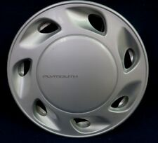 "PLYMOUTH LASER 90-94 16"" 7 HOLE SILVER WHEEL COVER / HUBCAP - 1 - OEM"