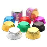 100X Muffin Cupcake Baking Cups Paper Cake Cupcake Liner Baking Cup-Case Sale