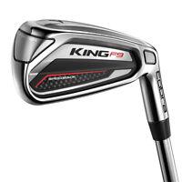 NEW Cobra Golf King F9 Irons 2019 Choose Shaft, Flex & Set Composition