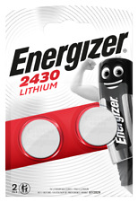 4x Energizer CR2430-C2 Litihium 3V Coin Cell CR2430 Batteries (8 Batteries)