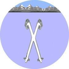 "Ausstecher/Ausstechform ""SCHISTÖCKE"" - Skistöcke, Schi, Ski"