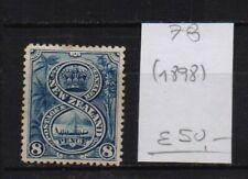 ! New Zealand 1898. Stamp. YT#78. €50.00!