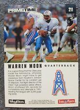 SkyBox Warren Moon Houston Oilers NFL Nr. 211 Trading Card