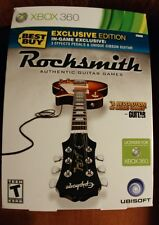 Rocksmith Best Buy Exclusive Edition - Xbox 360 with real tone cable - NEW