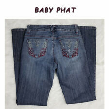 Baby Phat Distressed Denim Jeans ~ Size 3