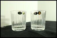 Tumbler set of 2 Crystal Whiskey/Vodka Glass Bohemia Czech