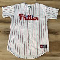 Majestic MLB Roy Halladay #34 Philadelphia Phillies Baseball Jersey Youth Large