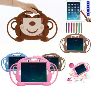 Rubber Kids Handle Shockproof Protect Case Cover For iPad Mini 1234/Air2/Pro 9.7