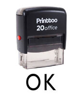 Printtoo Ok Selbstfarb Stempel Büro Stationär Bedrucktes Stempel