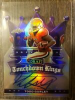 2015 Leaf Draft Touchdown Kings Todd Gurley RC Auto #/15  Falcons Autograph