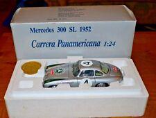 CMC 1:24 M-017 1952 Silver Mercedes-Benz 300 SL Carrera Panamericana; Boxed