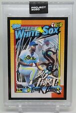 Frank Thomas Topps Project 2020 by King Saladeen Card #213 Chicago White Sox