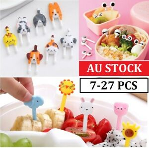 Fruit Picks Animal Cute Children Bento Forks Lunches Party Accessory Decor Tools