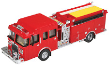 13800 Walthers SceneMaster 1/87 HO Scale Heavy Duty Fire Engine Die-Cast HO