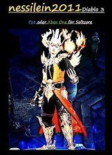 Diablo 3 RoS Ps4/Xbox One - Zauberer - Pracht Des Feuervogels - URALT - Unmodded