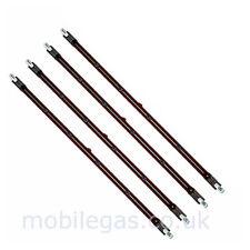 4 x 348mm 1500 Watt 1.5 Kw R7 Rubin Halogen Ir Infrarot Groß Rot Rad Heizer Bulb