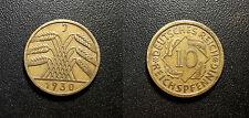 Allemagne - République de Weimar - 10 Reichspfennig 1934 Munich - KM#40