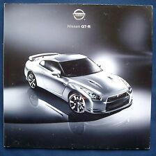 PROSPEKT BROCHURE 2009 NISSAN GT-R Sportscar (USA)