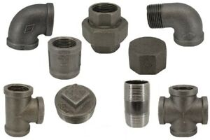 Black Malleable Iron Pipe Fittings