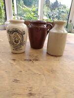 Vintage Rich Preserved Cream Pot Wigtownshire Creamery Stranraer Jar & 2 pots