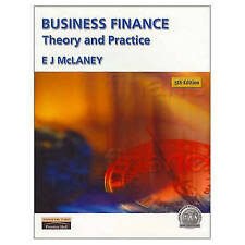 """VERY GOOD"" Business Finance: Theory and Practice, McLaney, Eddie, Book"