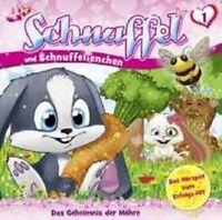 """SCHNUFFEL """"01/DAS GEHEIMNIS DER MÖHRE"""" CD HÖRSPIEL NEU"""