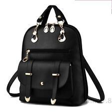 2016 new backpack bag lady female Korean fashion tide wind Institute PU Leather
