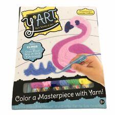 Y'art Craft Kit-Flamingo Yarn Works Of Art