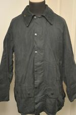 "BARBOUR A155 WAX COTTON BEAUFORT JACKET 46"" / 117CM BLUE *OUTDOORS / COUNTRY*"