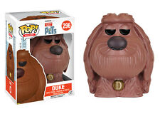 "THE SECRET LIFE OF PETS - DUKE 3.75"" POP MOVIES VINYL FIGURE FUNKO 296 NEW"