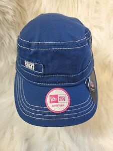 Indianapolis Colts NEW Womens Major Chic Military Hat NFL Football Fan Gift NWT
