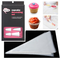 Icing Piping Bag Nozzle Cupcake Cream Cake Pastry Decor Tool Reusable Disposable