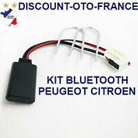 CTAPGBT011 Peugeot Bluetooth Adaptateur Mains-Libres Appels 207 307 308 407 607