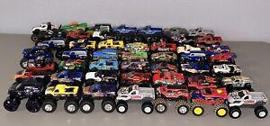 *MINT* Huge Lot of 49 Hot Wheels Monster Jam 1:64 Scale Monster Trucks Diecast